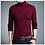 Thumbnail: TFETTERS 2020 Slim Thickened Mens Base Coat Turtleneck Sweater Men Sweater Black