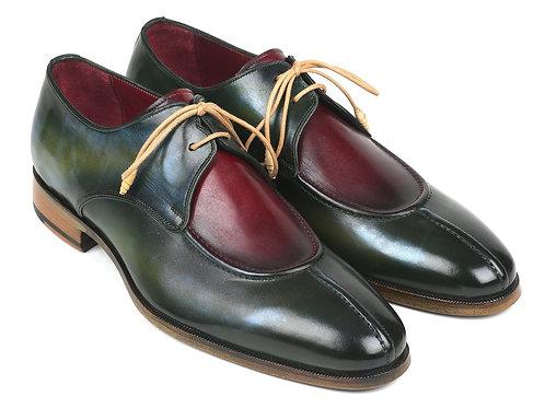 Paul Parkman Split Toe Men's Multi-Color Derby Shoes