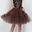 Thumbnail: Petticoat 5 Layers 60cm Tutu Tulle Skirt Vintage Midi Pleated Skirts Womens