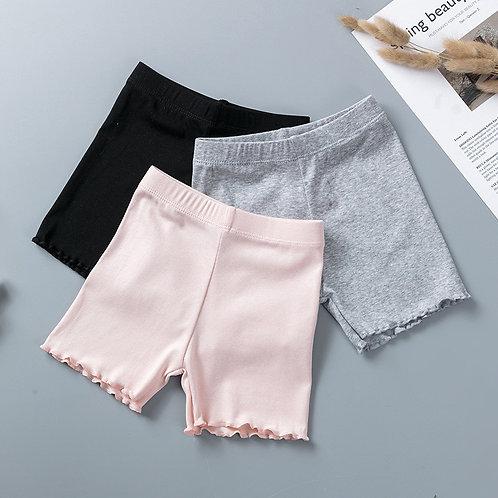 100% Cotton Girls Safety Pants Top Quality Kids Short Pants Underwear Children