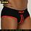 Thumbnail: Striped Sexy Men Underwear Breathable Mesh Silk Men's Briefs Men Bambozd