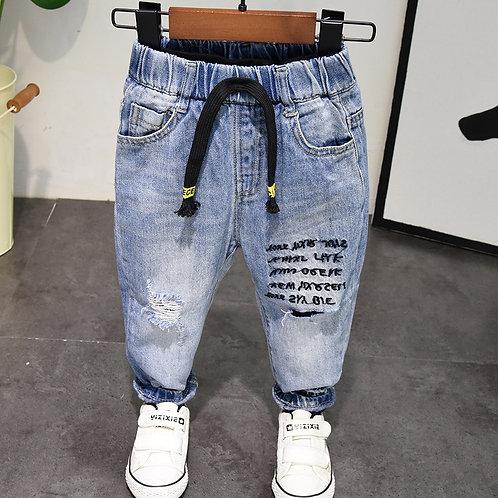 New 2020 Spring Autumn Baby Boy Jeans Pants 2-7years Kids Boys Denim Jeans Boys