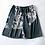 Thumbnail: Two-Pieces Silk Nightgown Satin Male Sleepwear Loose Tiger Dress Silky