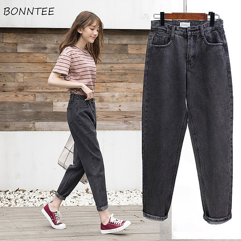 Jeans for Women Spring Streetwear High Quality  Womens Trousers