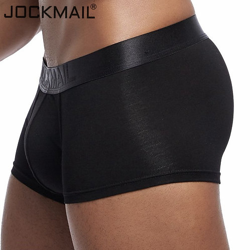JOCKMAIL New Sexy Men Underwear Boxer Solid Boxershorts Men Modal Soft