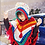 Thumbnail: New Fashion Hooded Coat Loose Outerwear Hand Made National Women Sweaters