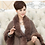 Thumbnail: New Fashion Spring Women Coat Leather Grass Fox Fur Collar Ponchos and Capes