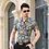 Thumbnail: Floral Print Shirt Men 2017 Brand New Gold Bronzing Short