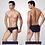 Thumbnail: 5pcs/Lot Men Briefs Comfy Model Sexy Underwear Solid Briefs Factory Men Bikini