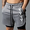 Thumbnail: New Double Layer Shorts Men Summer Quick-Drying Breathable Running Men Shorts