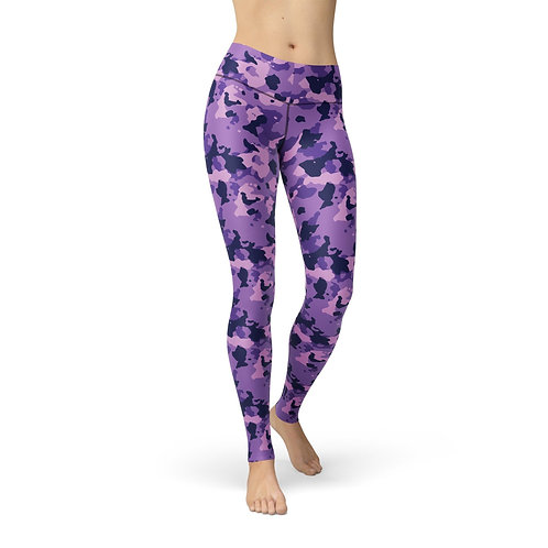 Jean Purple Camouflage