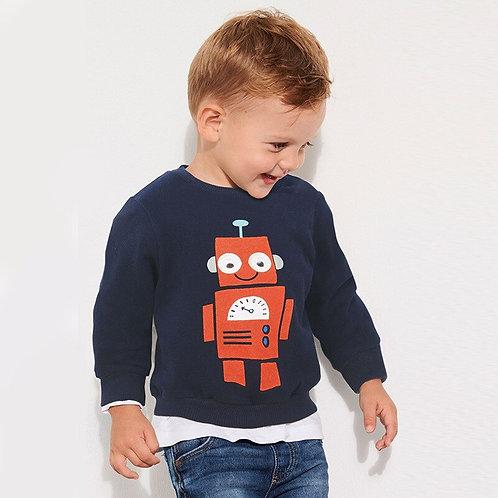Little Maven 2019 Autumn Baby Boys Brand Clothes Children Cotton Sweatshirts Boy