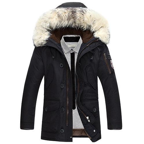 New Brand Winter Jacket Men 90% White Duck Down Jacket Warm Men Down Jacket