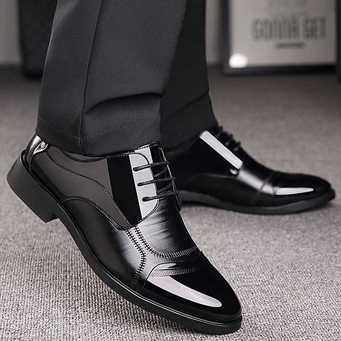 Business Luxury OXford Shoes Breathable  Formal Dress Shoes