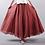 Thumbnail: Sherhure 2020 Women Linen Cotton Long Skirts Elastic Waist Pleated Maxi Skirts