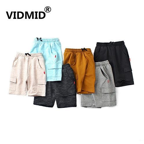 Summer Chidren's Clothes Boys Shorts Solid Thin Cotton Baby Boy Beach Shorts