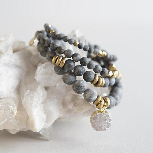 Labradorite Gemstone Bracelets