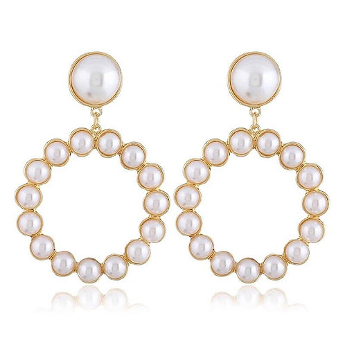 Vintage Pearl Earrings