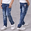 Thumbnail: IENENS Kids Boys Jeans  Fashion Clothes  Classic Pants Denim Clothing Children