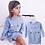 Thumbnail: Bear Leader Girls Dress 2020 New Spring Fashion Style Cartoon Denim T-Shirt Mesh