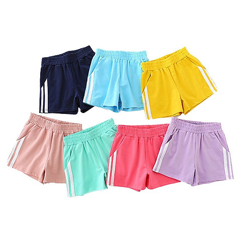 Shorts Girls Boys 2 4 6 8 10 Years Old Summer Cotton Short Pants Kids