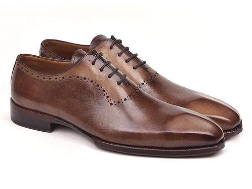 Paul Parkman Men's Antique Brown Oxfords