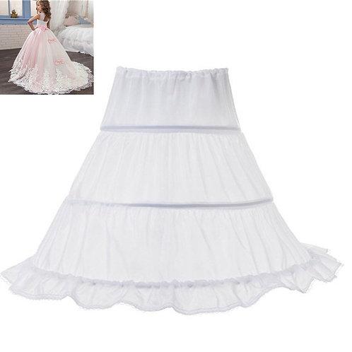 Girl Tutu Skirts Children 3 Hoops Petticoats Flower Girl Wedding Accessories