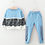 Thumbnail: LZH Girls Clothing Sets Autumn Winter Toddler Girls Clothes Outfit Kids