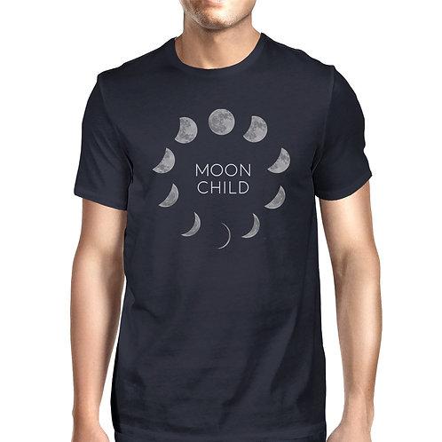 Moon Child Mens Navy Shirt