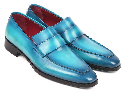 Paul Parkman Men's Loafers Turquoise