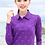 Thumbnail: Autumn Polo Shirt Female 2018 New Women Slim Thin Snow Printed Dot
