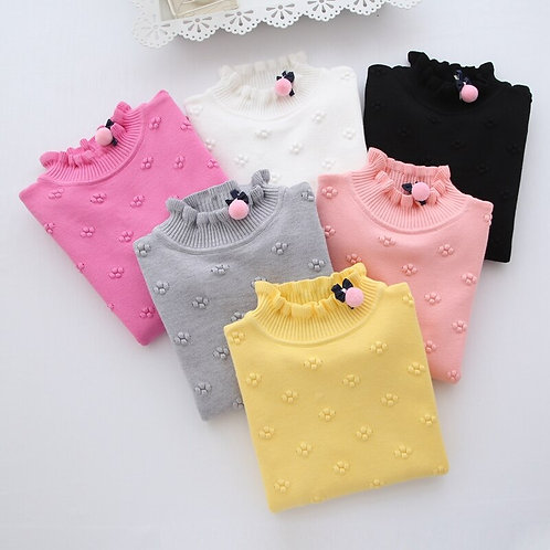 New 2020 Spring Winter Children Clothing Girls Sweater Kids Knitted Sweaters