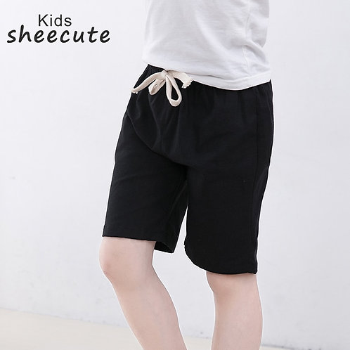 SheeCute New Arrival Summer Girls Shorts Kids Candy Color Shorts Boys Casual