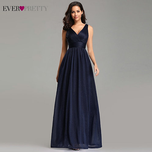 Gorgeous Evening Dresses Ever / A-Line Sleeveless Floor-Length  Party Gown Robe