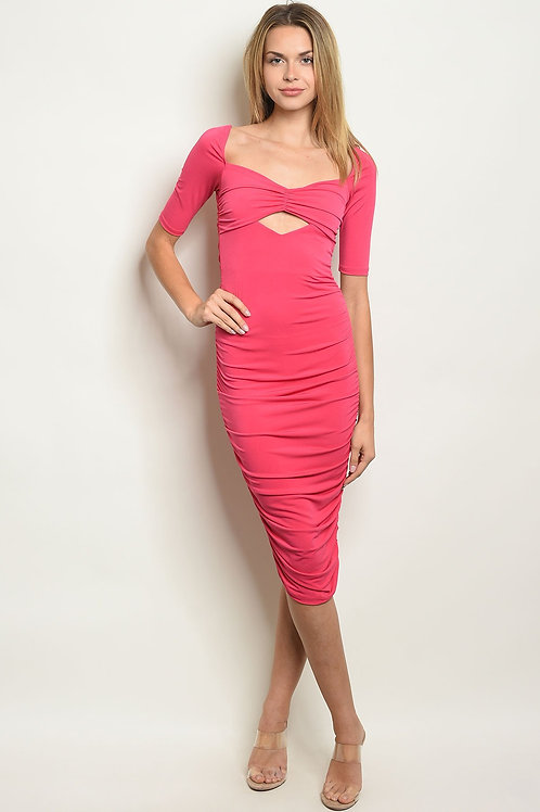 Womens Fuschia Dress
