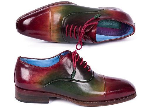 Paul Parkman Men's Captoe Oxfords Multicolor