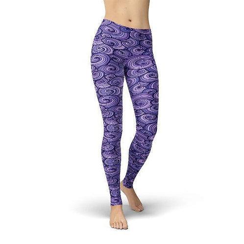 Jean Purple Swirls