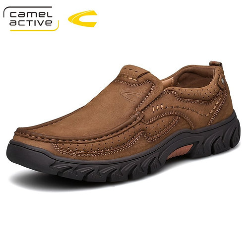 Genuine Leather  Shoes England Trend Male Footwear
