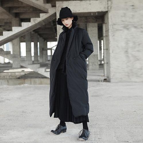 Namie Stand Collar Pocket Coat