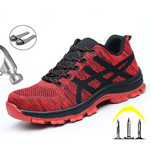 Work Sneakers Indestructible Shoes Steel Toe Work Safety Boot