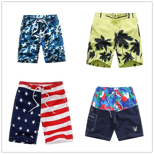 VIDMID 6-14y Kids Big Boys Beach Shorts Teenage Summer Children Swimming Shorts