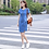 Thumbnail: Korean Plus Size Denim Dress for Women Summer Dress
