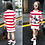 Thumbnail: 3-10y Child Baby Girls Warm Dress Autumn/Winter Cartoon Long Sleeve Mini Stright