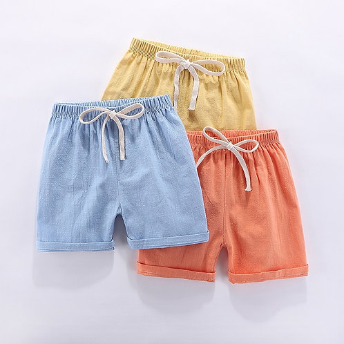 Boys Shorts Kids Shorts Candy Color Girls Children Summer Beach Loose Shorts