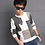 Thumbnail: 2019 New Leisure Children's Clothes, Kids Boy Spring Check Long-Sleeved Jacket