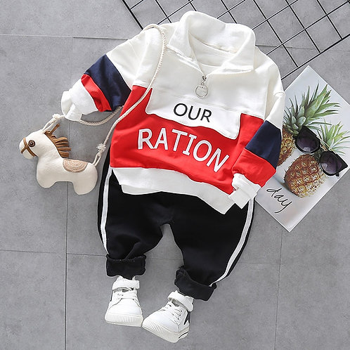 Fashion Toddler Baby Boy Girls Casual Clothes Set Outfits Spring Autumn Boys