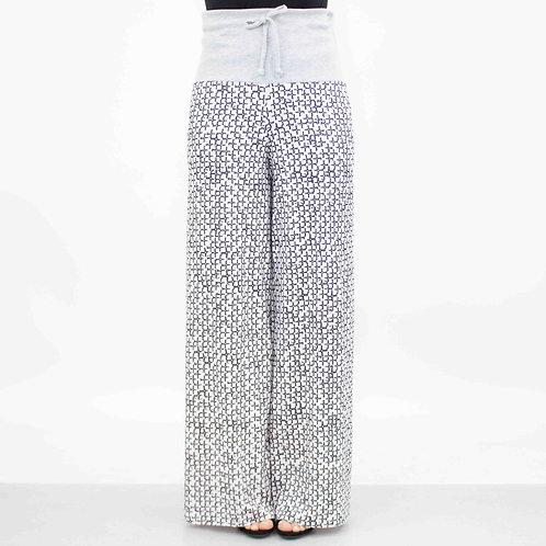 Wide Leg High Waist Maxi Pants