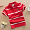 Thumbnail: Jargazol T Shirt Kids Clothes Turn-Down Collar Baby Boy Summer Top Tshirt