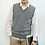 Thumbnail: ATTYYWS 18 Autumn and Winter New Men's V-Neck Sleeveless Sweater Solid Color