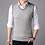 Thumbnail: Men Clothes 2020 Autumn Winter New Classic V-Neck Sleeveless Sweater Mens